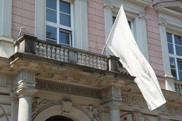 Weiße Flagge (Symbolbild)