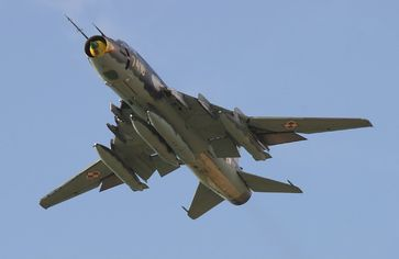 Eine Su-22M-4 (Symbolbild)