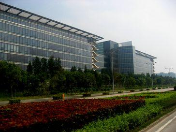 Huawei-Industriepark in Shenzhen
