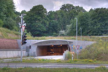 Nordportal des Lohbergtunnels