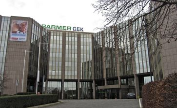 Hauptverwaltung der Barmer GEK am Standort Wuppertal