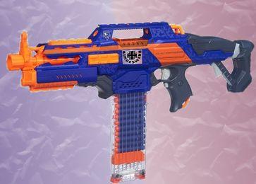 Spielzeugpistole (Symbolbild): Auch diese werden an Flughafen beschlagnahmt...