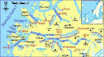 Bremanger: Der Nordfjord und seine Umgebung