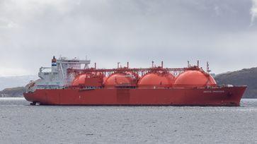 Ein Gas-Tanker (Symbolbild)