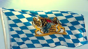 Fahne Freistaat Bayern