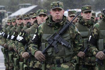 Kosovo-Sicherheitskräfte