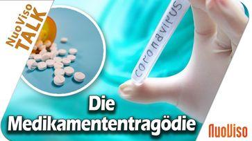 """Bild: SS Video: """"Die Medikamententragödie - Ursachen für die Übersterblichkeit während der """"Pandemie"""""""" (https://youtu.be/-iaJevQNZ9E) / Eigenes Werk"""