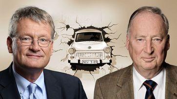 Prof. Dr. Jörg Meuthen und Dr. Alexander Gauland, Bundessprecher der AfD, (2019)