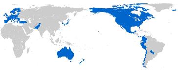 TiSA Verhandlungsparteien
