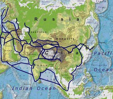 Das Netz der Seidenstraße