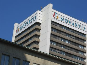Novartis Firmensitz in Basel