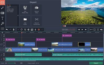 Bild: Screenshot Movavi Video Editor
