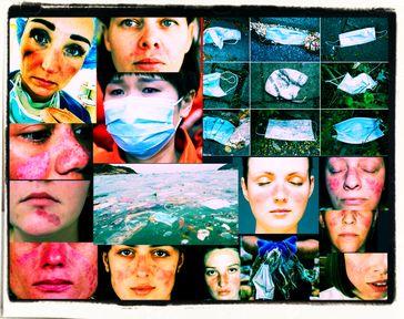 Das Tragen einer Mund-Nasen-Bedeckung ist nachweislich gesundheitschädlich (Symbolbild)