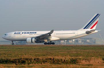 Der verunglückte Airbus A330-200 mit dem Kennzeichen F-GZCP im März 2007