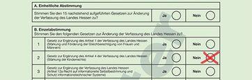 Kinderrechte in die Verfassung? Bei der Volksabstimmung Ende Okt. 2018 droht den Hessen die Einführung einer Impfpflicht durch die Hintertür.