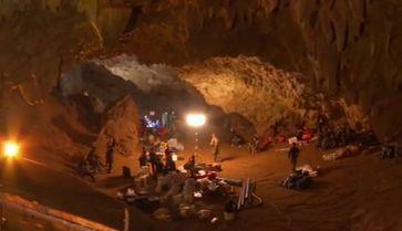 Rettungsarbeiten in der Tham Luang Höhle