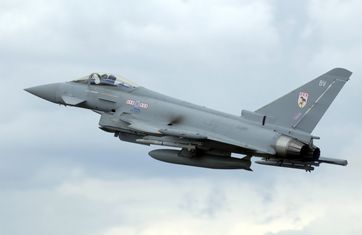 Eurofighter Typhoon F2 der Royal Air Force
