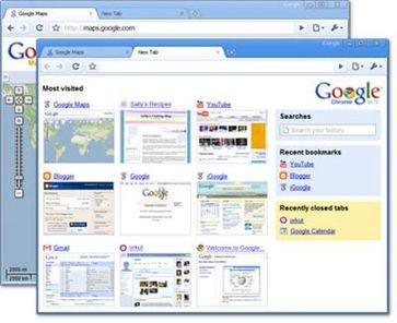 Google Chrome (BETA) für Windows