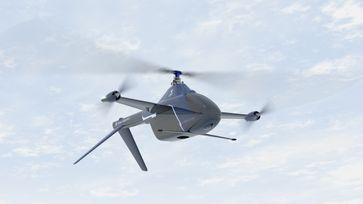 """Der rein elektrisch angetriebene GT20 Gyrotrak ist das erste Modell von Airial Robotics, das auf dem neuen, hybriden Konzept beruht.  Bild: """"obs/AIRIAL ROBOTICS GmbH/Arial Robotics"""""""
