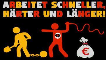 Immer mehr Arbeitsplätze gleichen Lohnsklaverei  mit Lohnsklaven (Symbolbild)