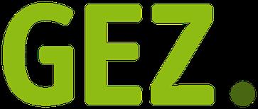 Logo der Gebühreneinzugszentrale der öffentlich-rechtlichen Rundfunkanstalten in der Bundesrepublik Deutschland (GEZ)