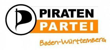 Logo der Piratenpartei Baden-Württemberg Bild: Piratenpartei Deutschland Landesverband Baden-Württemberg (openPR)