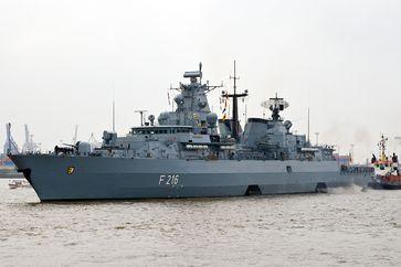 Operation Sophia: Fregatte Schleswig-Holstein (F 216)