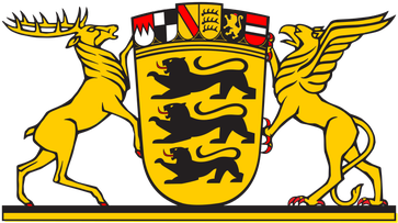 Großes Landeswappen von Baden-Württemberg