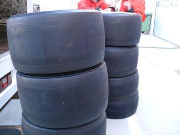 Bridgestone-Slicks für die Formel-1