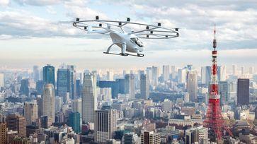 """Bild: Screenshot Internetseite: """"https://www.volocopter.com/urban-air-mobility/"""" / Eigenes Werk"""