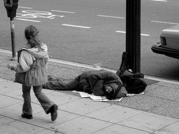 Obdachloser Student? (Symbolbild)