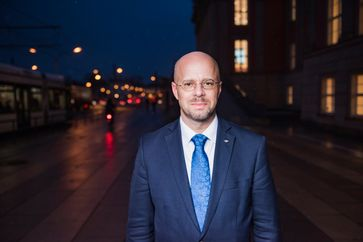 "Der AfD-Fraktionsvorsitzende in Brandenburg, Andreas Kalbitz. Bild: ""obs/AfD-Fraktion im Brandenburgischen Landtag/AfD-Fraktion Brdbg."""
