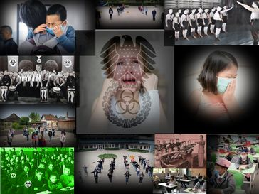 Durch staatliche Gewalt und Propaganda werden Kinder weltweit zu krankmachenden Verhalten zwangserzogen (Symbolbild)