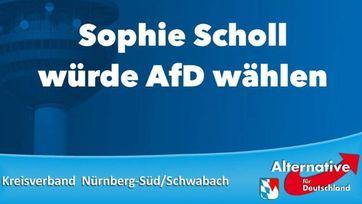 AfD Wahlplakat 2017 in Bayern (Symbolbild)