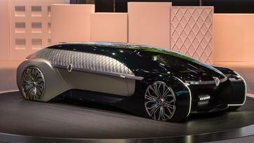 Das Konzept Renault EZ-Ultimo soll Fahren auf Autonomiestufe 4 erreichen.