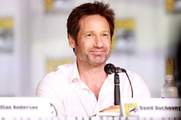 David Duchovny bei der Comic-Con 2013