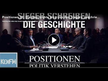 """Bild: Screenshot Video: """"Sieger schreiben die Geschichte - IM GESPRÄCH [PI POLITIK SPEZIAL]"""" (https://youtu.be/kY6i3KS3Wnc) / Eigenes Werk"""