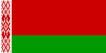 Flagge von Weißrussland