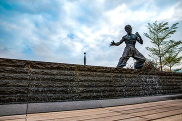 "Bruce Lee Statue in der Avenue of Stars in Hongkong /  Bild: ""obs/Hong Kong Tourism Board"""