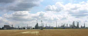 Chemie- und Industriepark Leuna - Westansicht