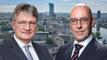 Prof. Dr. Jörg Meuthen und Dr. Alexander Wolf (2020)