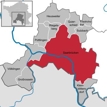 Saarbrücken und Umgebung