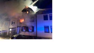Brand Odernheim Bild: Polizei