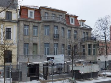 Griechische Botschaft im Tiergarten beim Wiederaufbau 2013
