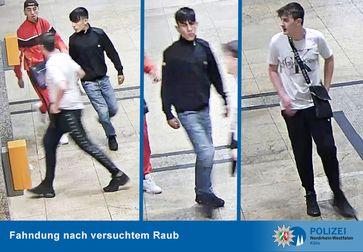 Foto vers. Raub Bild: Polizei