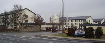 Krahnenberg-Kaserne, die älteste Kaserne der Bundeswehr. Standort: Andernach