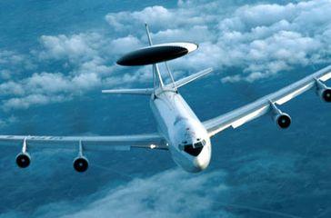 AWACS-Flugzeug der Nato. Bild: NATO