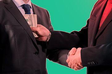 Korruption: Nur damit rein Zufällig genau das passiert was ich mir wünsche... (Symbolbild)