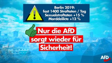 Berlin: Über 500.000 Straftaten jedes Jahr