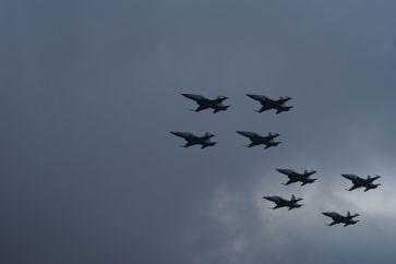 Kampfjets (Symbolbild)